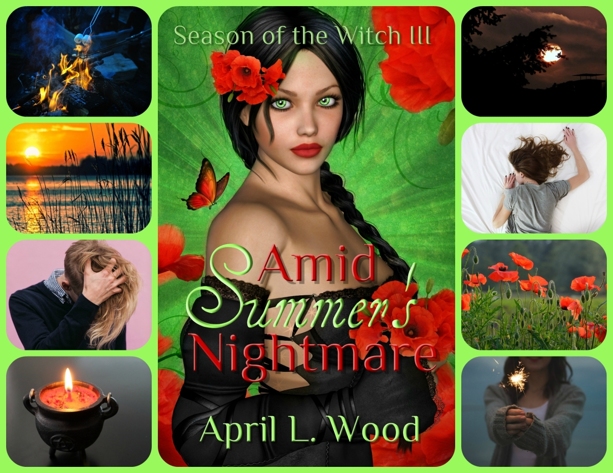 Happy Publication Day to Amid Summer's Nightmare, Season of the Witch Book 3! 🌿💚🌟📚