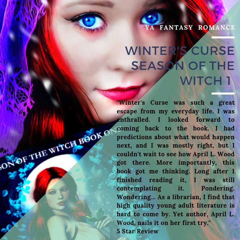 Winter's Curse, Season of the Witch I, is #FREE on #AmazonKindle 8/10 – 8/14!